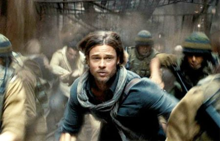 Only Brad Pitt (okay, maybe Tom Cruise) could look so dashing in the midst of a zombie apocalypse.
