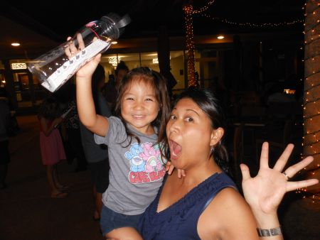 Madison Higa is the winner of a brand new water bottle. It's hard to convey such excitement through the internet.
