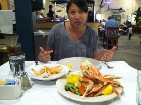 Round 3: Snow Crab Legs (gangster style, apparently)