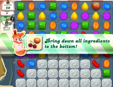 Candy Crush, AKA Shitty Bejewled.
