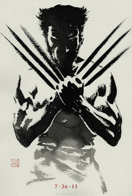 This Frank Miller-esque poster made me think we were going back to when Logan became a samurai. Very tricky, Marvel/Disney/ABC/ESPN/Lucas Film.