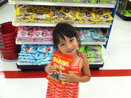 Of all that snacks in the whole Target, Mad chose this.