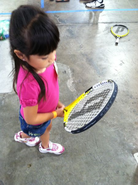 I don't know a lot about tennis other than grunting, but I know Madison isn't a prodigy.