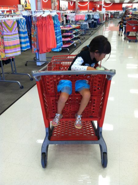 A Higa Fam rite of summer: Icee in Target.