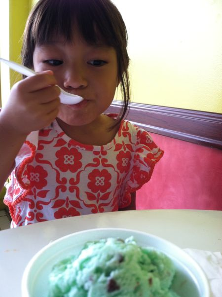 Mint  chocolate chip FTW!