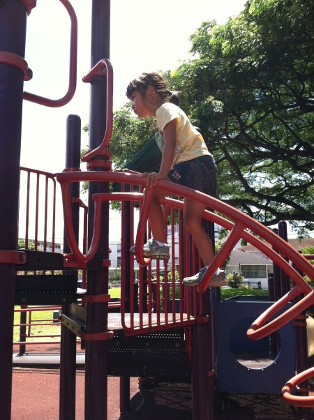 Sprawling playgrounds are the best.