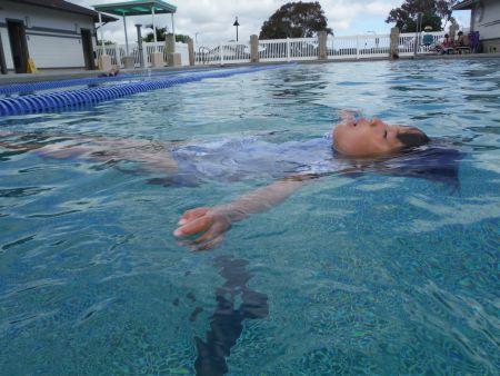 A floatee-free floater!