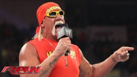 What, no tearing of the shirt, Hogan?