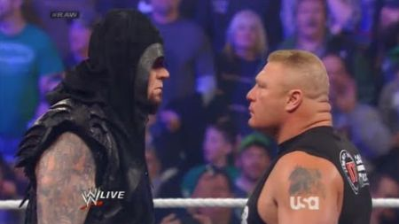 Right on time, Taker.