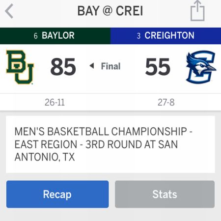 If it's any consolation, Creighton fans, the Blue Jays are better than LMU.