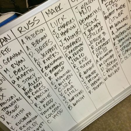 The big board.