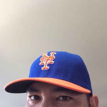 My new Mets cap makes its Major League debut!